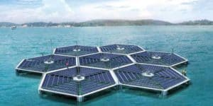 Floating Photovoltaic Solar Panels | Photo Credit: Huffington Post